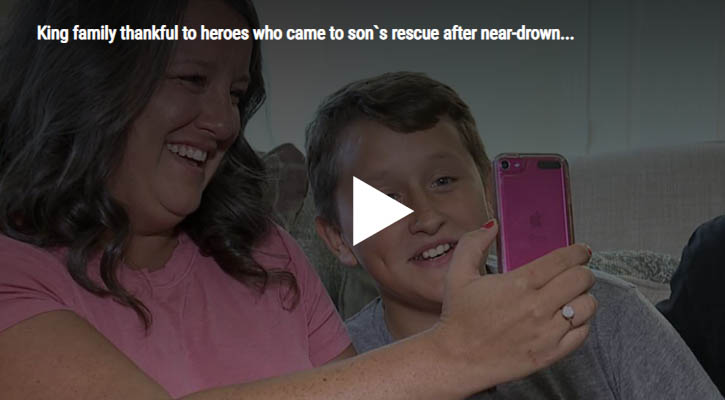Life Flight Nurse Helps Save Drown 12-Year Old - no pulse for 5 minutes