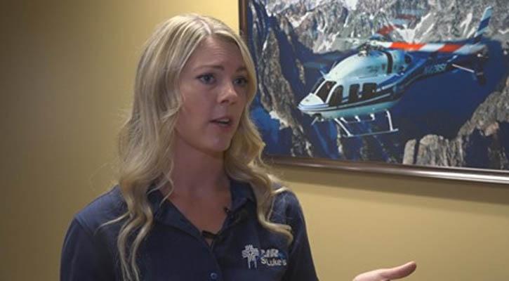 Air St. Luke's Flight Nurse Talks About Mountain Rescue
