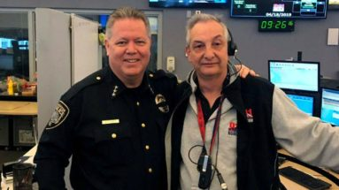 Dispatcher Honored for 33 Years of Service