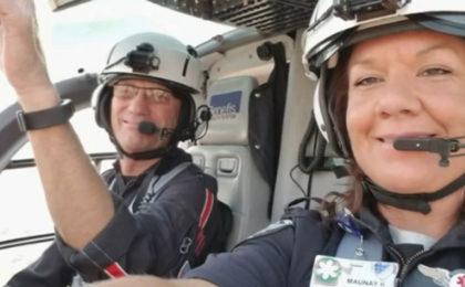 Mercy Flight Paramedic Completes 1,000 Flights