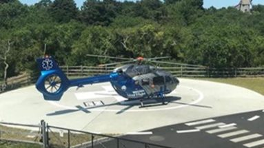 Boston MedFlight Helicopter