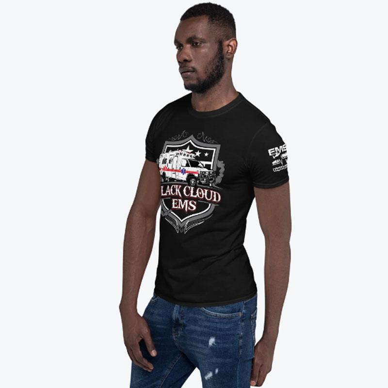 Black Cloud Tshirt Male