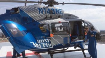 Boston Med Flght First to Carry Blood Products