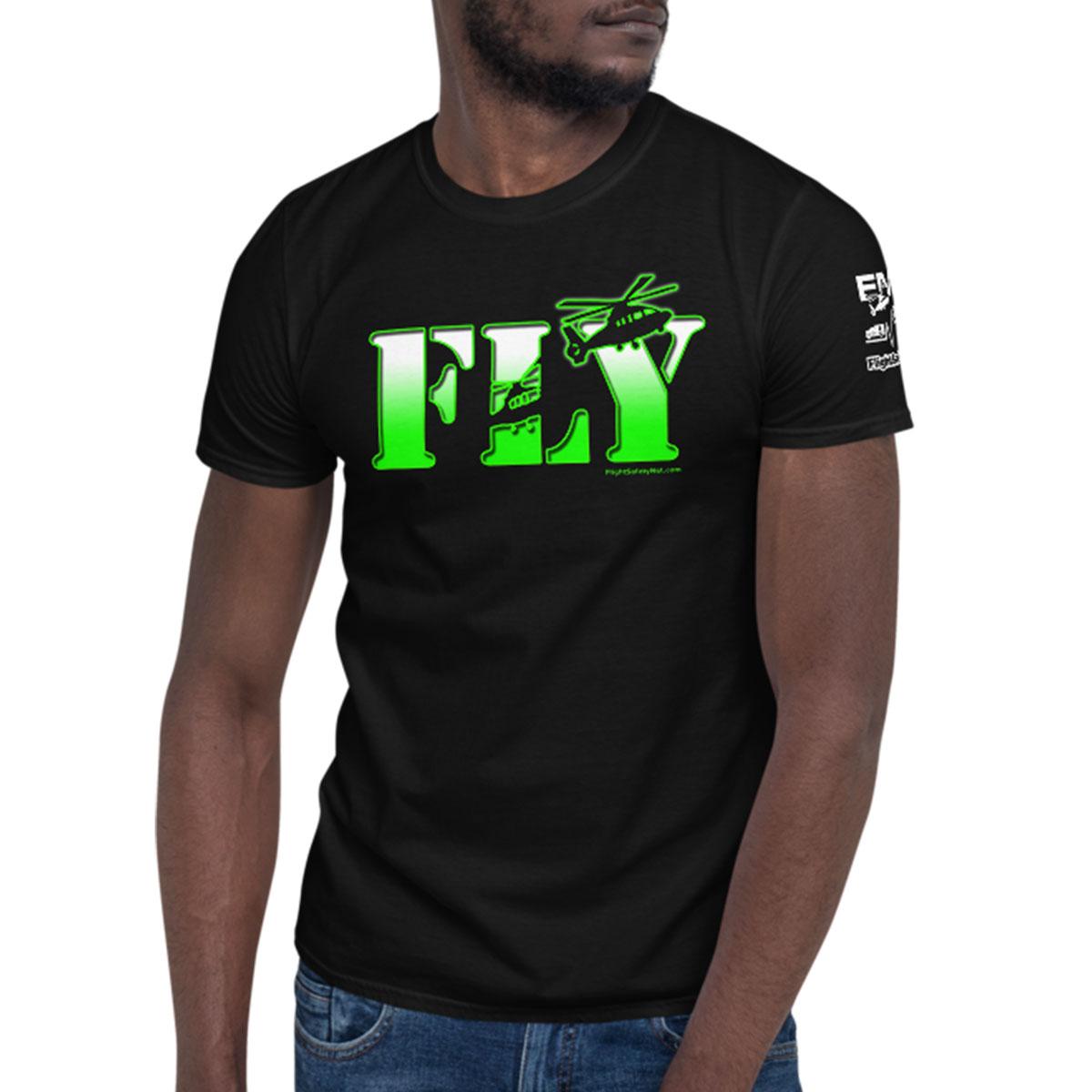 FLY Black Tshirt 1200