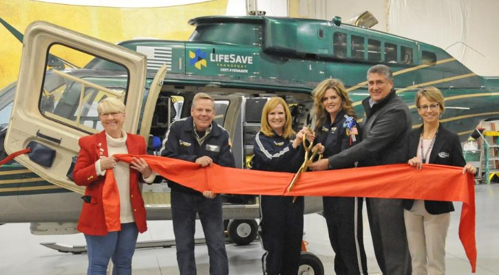 LifeSave Transport Opens Base at Salina Airport