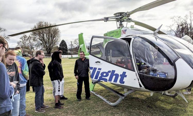 MedFlight Helicopter Visit