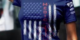 Medic Pride Navy t-shirt 128