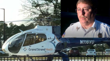 Medical Helicopter Base Closure Grounds FD