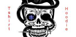 Star of Life Sugar Skull tshirts and hoodies