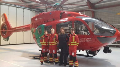 Wales All Female Air Ambulance Crew