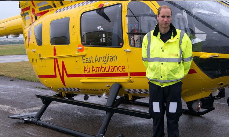 prince william helicopter pilot