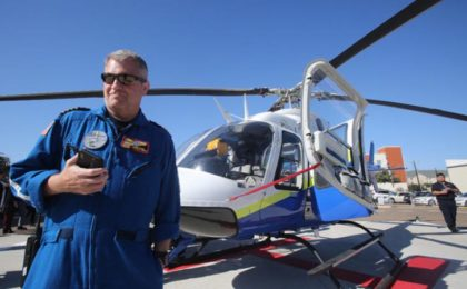 Pilot Chris Kane