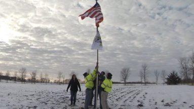 Property Owners Honor Fallen BlackHawk Crew